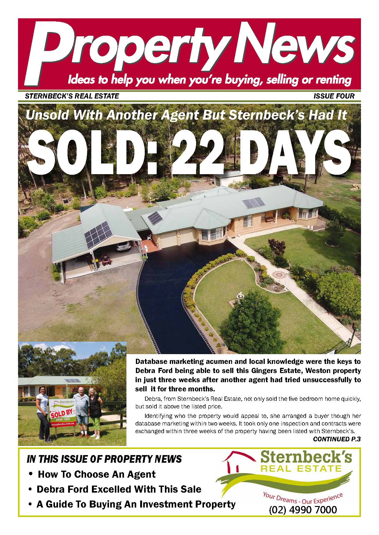 property news newsletters real estate agents marketing the alternative is the old appraisal flyer everyone uses don t waste another moment start using property news