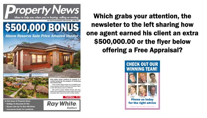 why free appraisal flyers don t work and what is working now real
